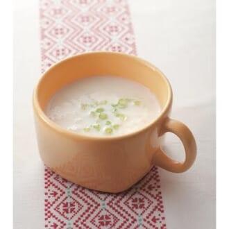 お鍋ひとつで簡単! かぶのポタージュスープで寒~い日でもほっこり♡