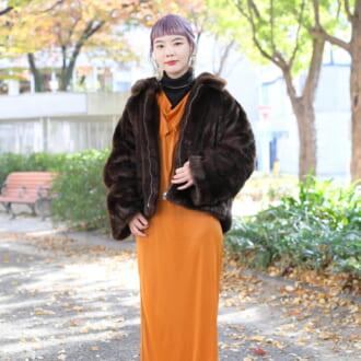 """【Today's merSNAP】色使いがカギ♡ 美容師が教える""""ファーコート""""のオシャ見えテク"""