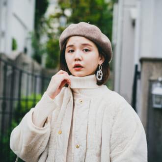 <12/13のコーデ>冬の女子の特権♡「白ニットワンピ」で愛らしさをゲット
