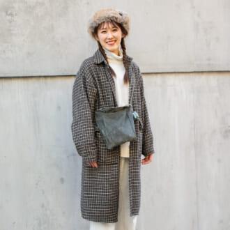 【Today's merSNAP】チェックコートは難しい? 簡単にオシャ見えできちゃう着こなしルール