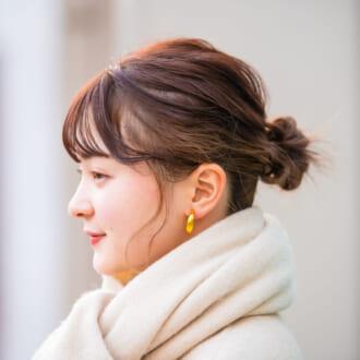 """【ヘアアレSNAP】オシャレさんはこう使う♡ アクセが主役の""""お団子ヘア"""""""