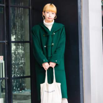【Today's merSNAP】大人女子はこう着る! 冬の定番「ダッフルコート」で作るトラッドスタイル