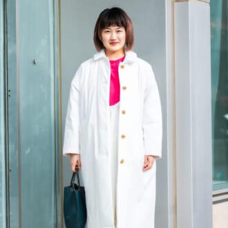 【Today's merSNAP】旬の「ビッグシルエ」で作る♡ フェミニン感漂うホワイトコーデ
