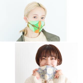 「柄マスク」の着こなしってどうしてる? モデルのリアル私服コーデ