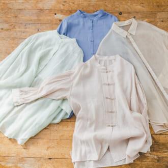 今季は優しげカラーで取り入れたい♡ 春スタイルをグレードアップする「カラーシャツ」特集
