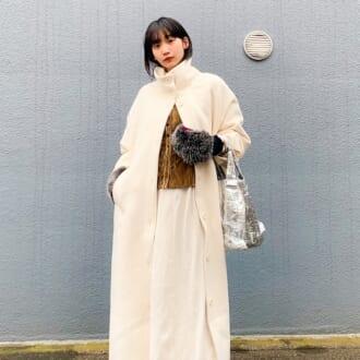 【Today's merSNAP】差し色が映える♡ モード感漂う大人の「ホワイトコーデ」