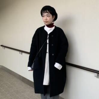 【Today's merSNAP】マニッシュルックは小物でフェミニンに♡ 大人女子のモノトーンコーデ