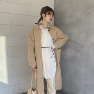 【Today's merSNAP】「淡色女子」のお手本♡ ワントーンコーデが一気にアカ抜ける着こなしテク