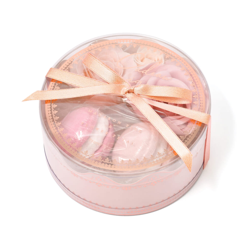 カドミニョン マカロン&ペタル ラウンド ピンク (入浴剤) 価格:1200円
