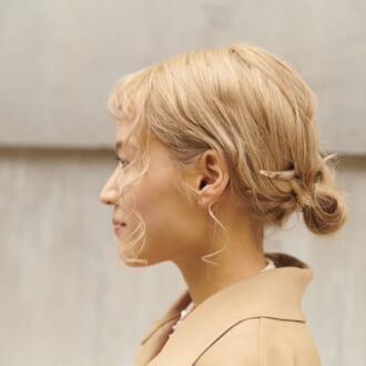 オシャレさんは「+1」してる♡ かんざし&バレッタのお団子アレンジ