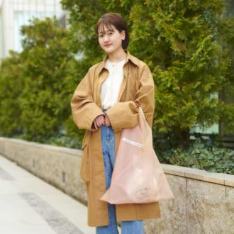 【Today's merSNAP】だぼシルエは小物で差をつけて♡大人女子の春のカジュアルコーデ