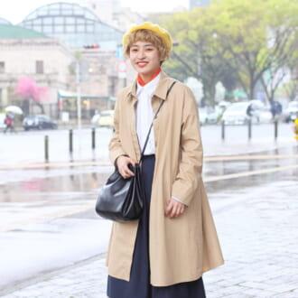 【Today's merSNAP】GU、ユニクロ、H&Mが大活躍! プチプラブランドで作る「ロンドン風スタイル」