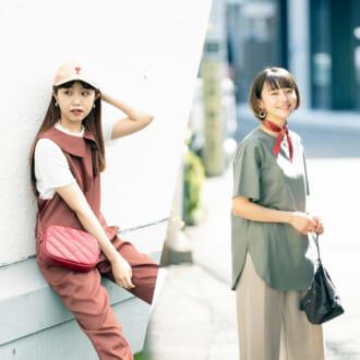 """""""まさかこれGU!?"""" 2色コーデが成功のカギ<GU Tシャツ>のモデル私服コーデ"""