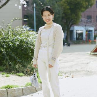 【Today's merSNAP】低身長さんのお手本♡ ワントーンコーデは「ボレロ」でスタイルアップ!