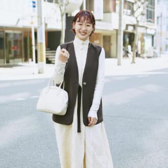 【Today's merSNAP】春ワンピースが主役♡ ホワイトコーデを格上げするテクって?