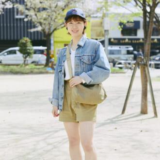 【Today's merSNAP】スポーティMIXがトレンド♡ 「ショートパンツ」で作る春のヘルシーコーデ