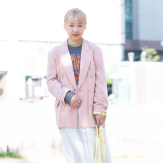 【Today's merSNAP】さじ加減がカギ♡ 「ジャケット×レーススカート」で作る甘辛MIXコーデ