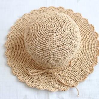 麦わらにクロシェ編み… minnneで見つけた夏まで使えるバケットハットまとめ