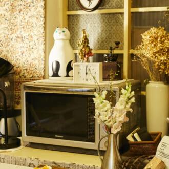 【オシャレなお部屋に潜入!】アンティーク雑貨で作る、カフェのようなお部屋