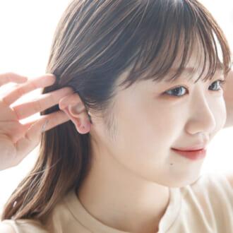 「耳のマッサージ」がフェイスラインに効く! モデルのセルフケア教えちゃいます!