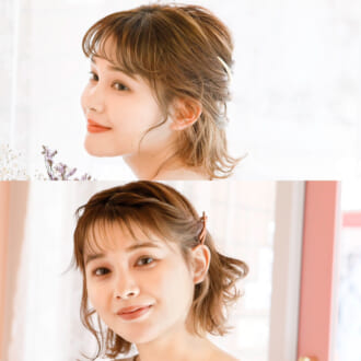 「可愛くなった?」って言われちゃう♡ Lino**の人気美容師が<ボブ>の女っぽアレンジを伝授