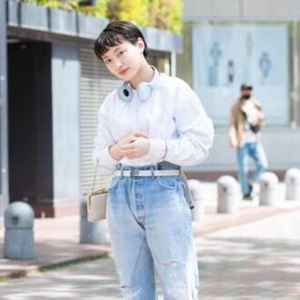 【Today's merSNAP】オシャレさんは小物使い上手♡ 定番「白T×デニム」のこなれ見えテク