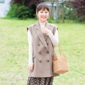 【Today's merSNAP】「テーラードベスト」で即オシャレ♡ 大人女子のトレンドコーデの作り方