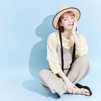夏は「サロペット」で楽ちんオシャレ♡ ゆるリラからしゃきっと清楚系まで着まわし3コーデ