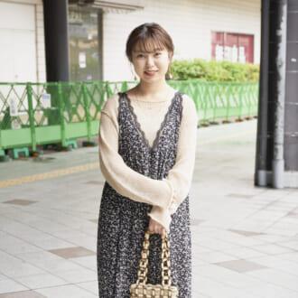 【Today's merSNAP】大人っぽさと甘さを両取り♡ 「花柄ワンピ」が主役の今っぽスタイル