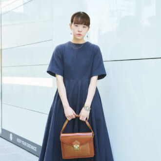 "【Today's merSNAP】夏ワンピは""シルエット""と""小物""で爽やかにアップデート♡"