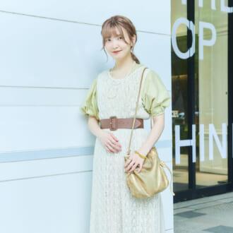 【Today's merSNAP】ニュアンスカラーが決め手♡ 東京美容師のニットワンピを使ったレイヤードテク