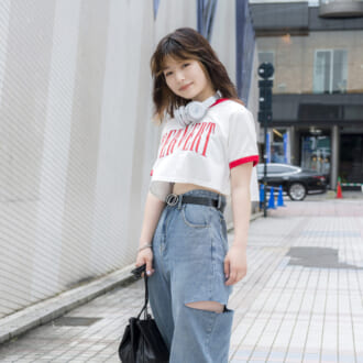 【Today's merSNAP】定番Tシャツ×デニムを超スタイルアップさせる方法知ってる?