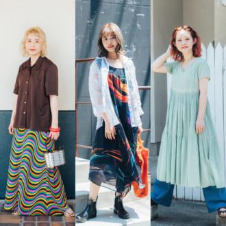 <2021夏オシャレ女子のファッション事情>大人女子流、全身古着コーデの作り方