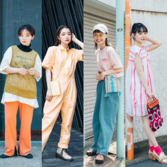"""<2021夏オシャレ女子のファッション事情>カラーを取り入れるなら""""オレンジvsピンク"""""""