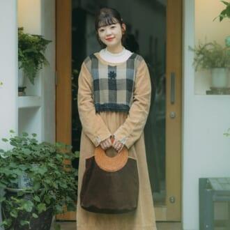 【Today's merSNAP×LINE LIVE】低身長でもバランス良し!重たくならない秋ワンピスタイル