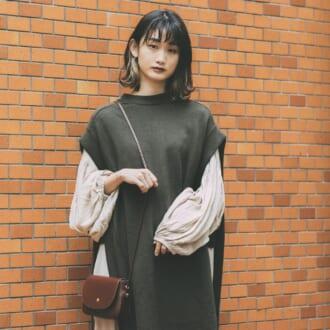 【Today's merSNAP×LINE LIVE】+1で秋モード♡ オシャ見えするニットベストは丈感がカギ