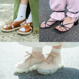 【足元SNAP】こなれ度UP間違いなし! 街のオシャレ女子が実践する「個性派足元スタイル」