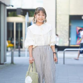 【Today's merSNAP】人気ショップスタッフが教える♡ 「靴下×スポサン」で秋めく方法