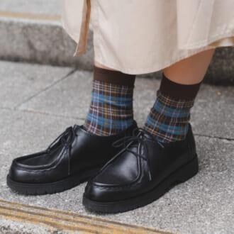【足元SNAP】秋冬マネしたい「靴下×シューズ」コーデ! オシャレさんが実践する(秘)テク公開♡