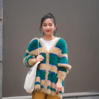 【Today's merSNAP】秋服はニットカーデが超頼れる♡ お気に入りの1枚で気分もUP間違いなし