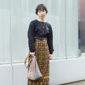 【Today's merSNAP】2色以内が成功のコツ! 東京美容師の柄スカート攻略法