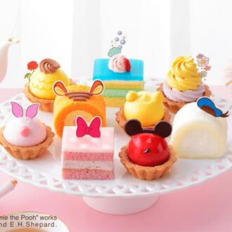 夢のディズニーケーキがネットで買える♡「銀座コージーコーナー」のプチケーキが可愛すぎ